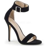 Terciopelo 13 cm Pleaser AMUSE-10 sandalias de tacón alto