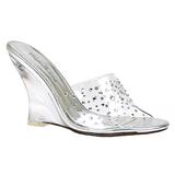Transparente 10,5 cm LOVELY-401RS Zapatos De Cuna Alta