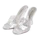 Transparente 10,5 cm LOVELY-401RS Zapatos De Cuña Alta