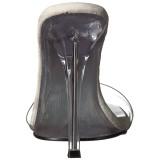 Transparente 11,5 cm GALA-01S zuecos de tacón alto
