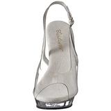 Transparente 13 cm LIP-150 Zapatos Tacón Aguja Plataforma