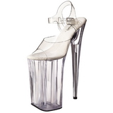 Transparente 25,5 cm Pleaser BEYOND-008 Tacones Altos Plataforma