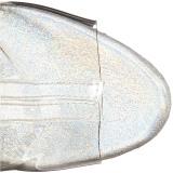 Traslucido 15 cm STARDANCE-1018C-7 botines con suela plataforma mujer