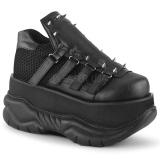 Vegan 7,5 cm NEPTUNE-50 Zapatos Demonia Hombres