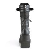 Vegano 11,5 cm SHAKER-70 botas cyberpunk plataforma