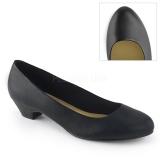 Vegano 3 cm GWEN-01 zapatos de salón para hombres y drag queens negros