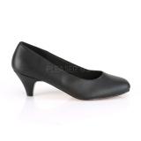 Vegano 6 cm FEFE-01 zapatos de salón para hombres y drag queens negros