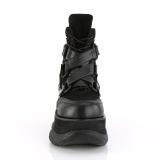 Vegano 7,5 cm NEPTUNE-126 botines demonia - botines de cyberpunk unisex