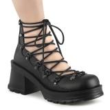 Vegano 7 cm BRATTY-32 demonia zapatos alternativo plataforma negro