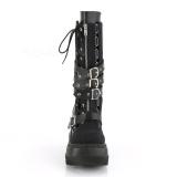 Veganos 11,5 cm SHAKER-71 demonia botas en cuña