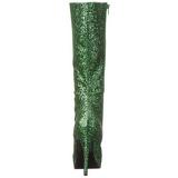 Verde Brillo 13 cm LOLITA-300G Plataforma Botas Media