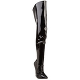 Vinilo 15,5 cm SCREAM-3010 largas botas altas fetiche brillante