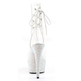 Vinilo piedra cristal 15 cm BEJEWELED-1018DM botines mujer con plataforma