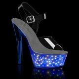 luz LED plataforma 15 cm ECHOLITE-208 sandalias de tacón pole dance