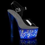 luz LED plataforma 18 cm ECHOLITE-708 sandalias de tacón pole dance