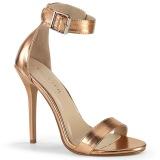rosa oro 13 cm AMUSE-10 Zapatos para travestis