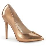 rosa oro 13 cm AMUSE-20 Pleaser zapatos de tacón aguja