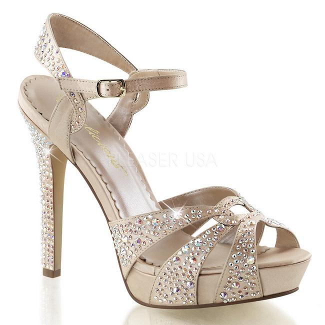 LUMINA-23 zapatos de fiesta y ceremonia strass talla 41 - 42